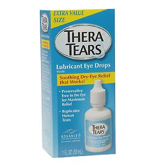 Theratears lubricant eye drops, 1 oz