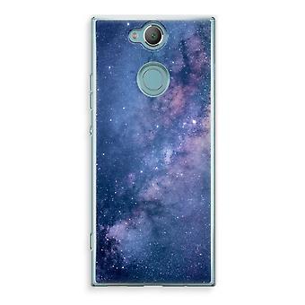 Sony Xperia XA2 Transparent Case (Soft) - Nebula