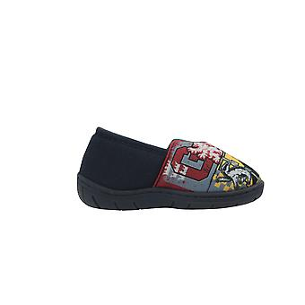 Harry Potter Boys Curtis Low Top Slippers UK Sizes Child 10-3