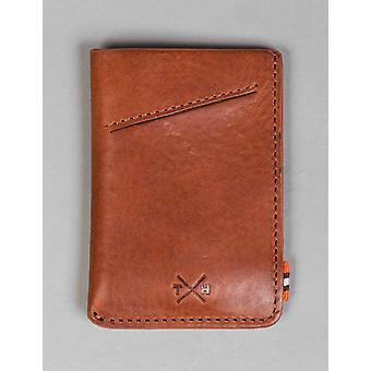 Tumble and Hide Chukka Leather Adept Card Holder - Tan