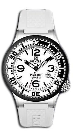 Waooh - Watches - Kienzle Poseidon Large (WHITE-BLACK)