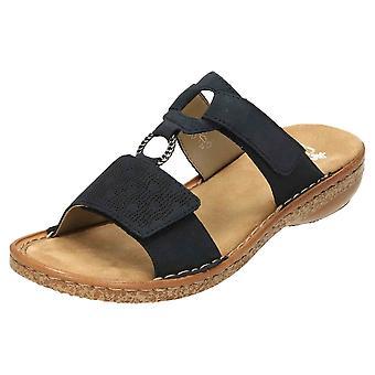 Rieker Slip On Mule Sandals Open Toe 62885-14