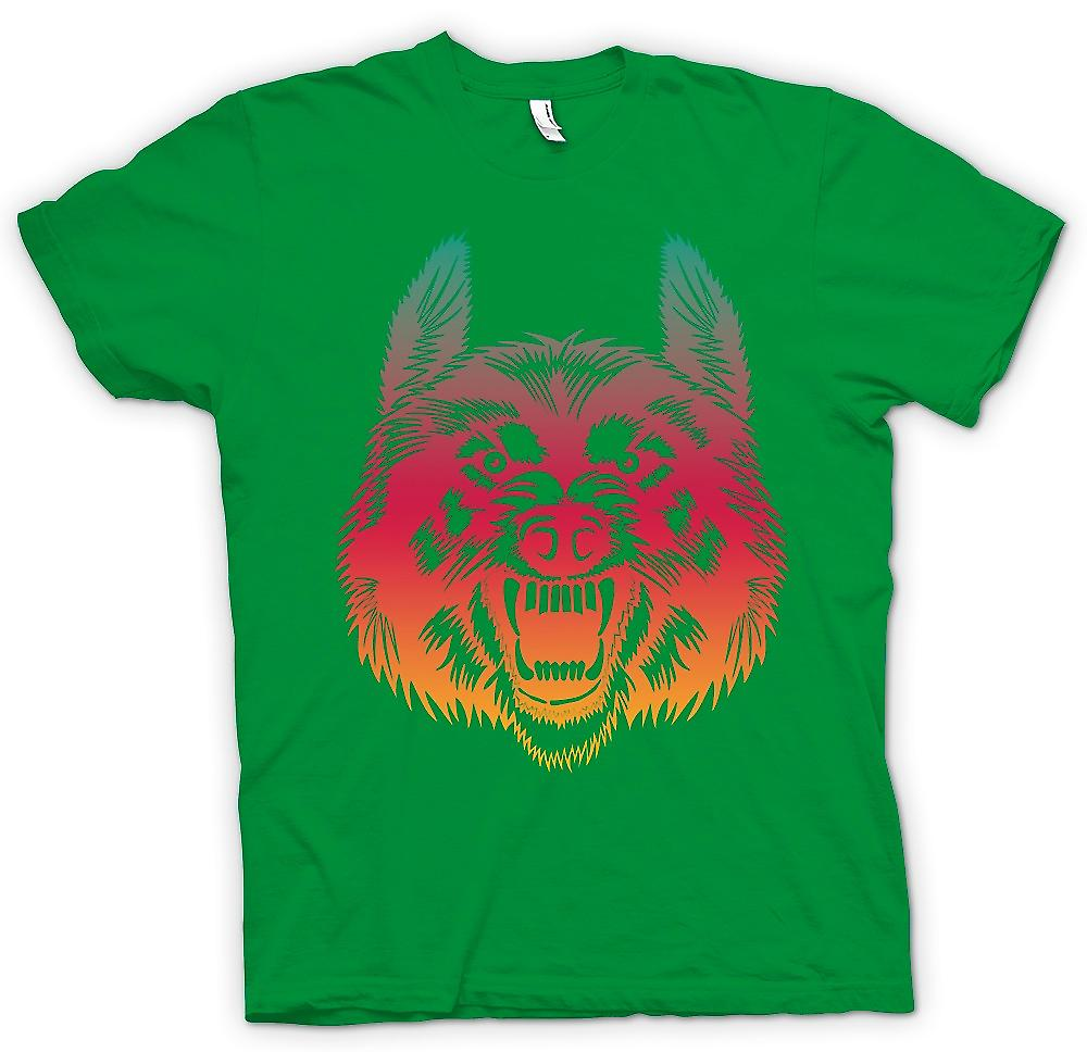 Heren T-shirt - willen om Join mijn Wolf Pack - Funny