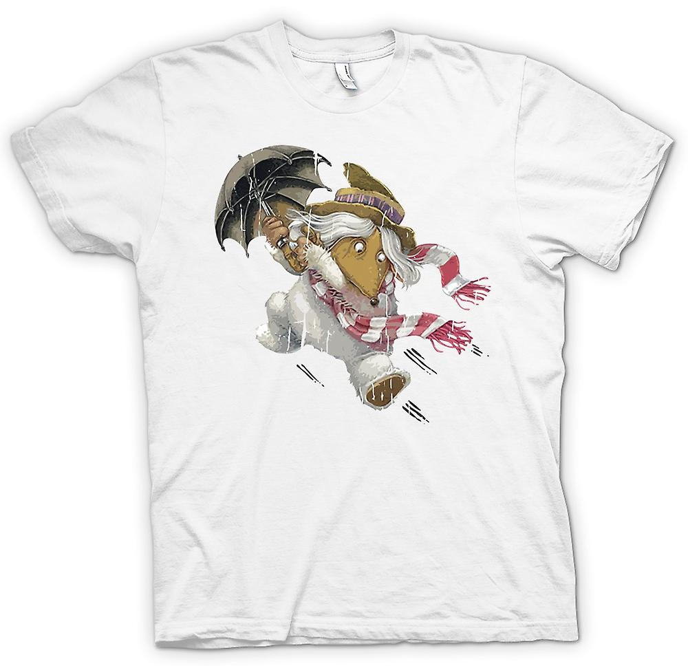 Womens T-shirt - The Wombles - Orinico With Umbrella