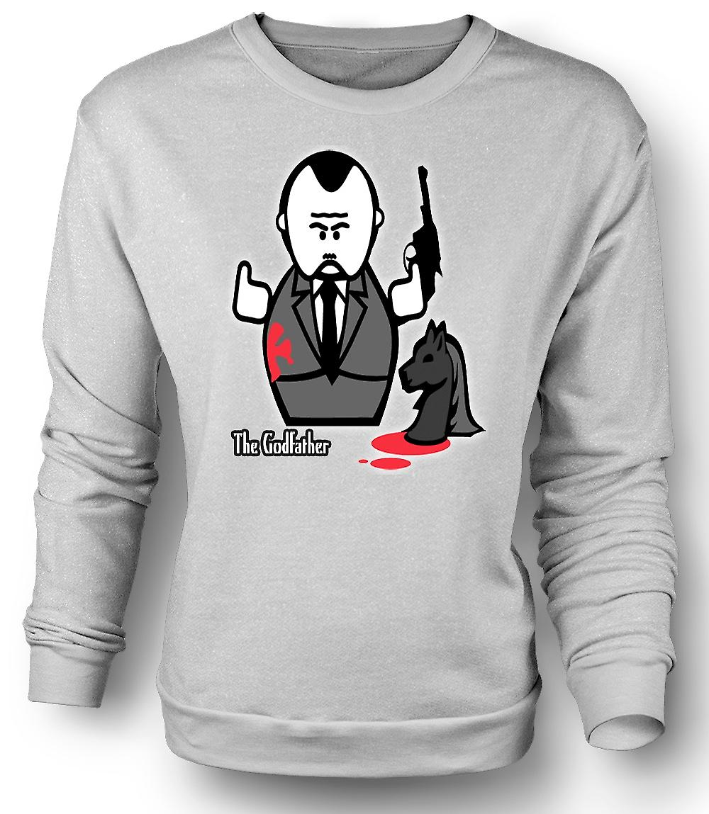 Mens Sweatshirt Godfather - Mafia - Cartoon