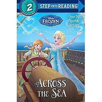 Over de zee (Disney Frozen) (stap in lezing: een boek van stap 2)