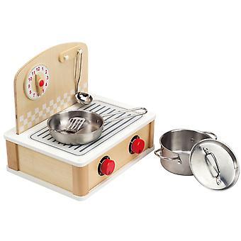 Jeu d'imitation enfant jeux jouets Table de cuisson intérieure pour enfant 0102092
