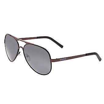 Rasse-Genesis polarisierte Sonnenbrille - braun/schwarz
