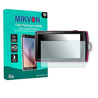Fujifilm FinePix Z1010EXR Screen Protector - Mikvon Clear (Retail Package with accessories)