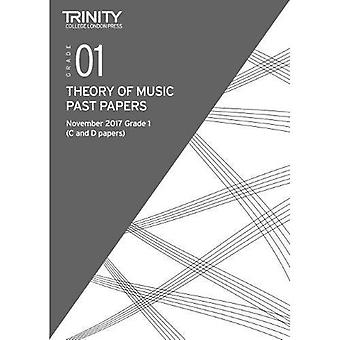 Trinity College London: Past Papers: Theory (Nov 2017) Grade 1