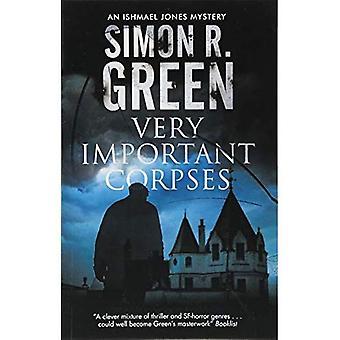 Very Important Corpses (Ishmael Jones Mystery)