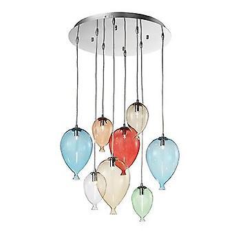 Ideal Lux - payaso Color medio redondo colgante IDL100944