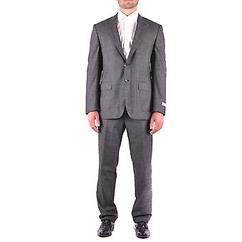 Canali Grey Wool Suit