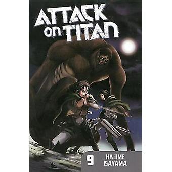 Attack on Titan 9 by Hajime Isayama - 9781612625485 Book