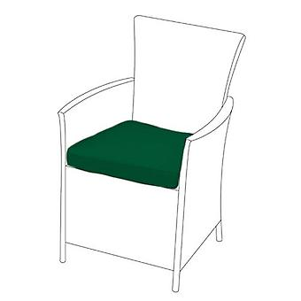 Green Seat Cushion for Rattan Chair, Pack of 1