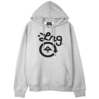Lrg Cycle Logo Pullover Hoodie Ash Heather