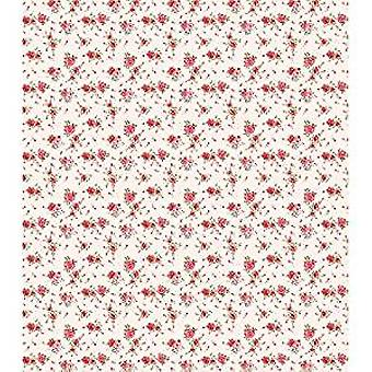 Craft Consortium antik ros grädde decoupage papper (CCDECP235)