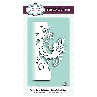 Creative Expressions Die Luna Fairy Edger | Paper Cuts Collection