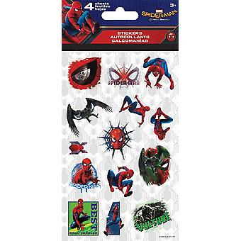 Standard Stickers 4 sheet - Spider-Man Homecoming New st4072