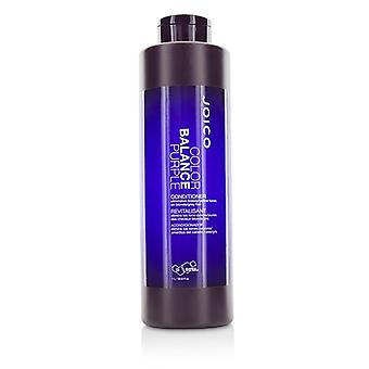 Joico Color Balance Purple Conditioner (eliminates Brassy/yellow Tones On Blonde/gray Hair) - 1000ml/33.8oz