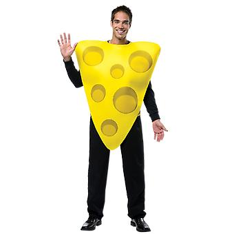 Adult Cheese Food Fancy Dress Costume