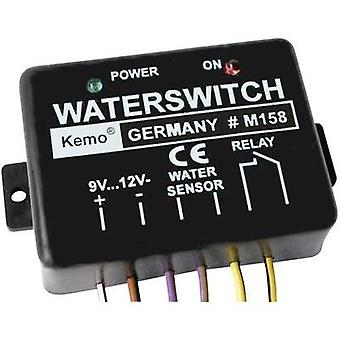 Kemo M158 Water Sensor Relay Switch Module, 9-12Vdc