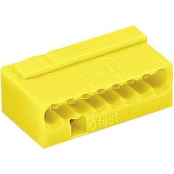 Screw terminal flexible: 0.6- rigid: -0.8 mm² Number of pins: 8 WAGO 1 pc(s) Yellow