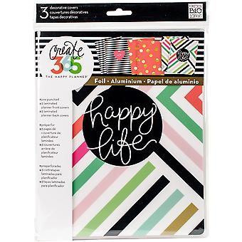 Create 365 Happy Planner Covers 3/Pkg-3 Sets COVX01
