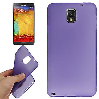 TPU case cover voor Samsung Galaxy touch 3 / N9000 paars