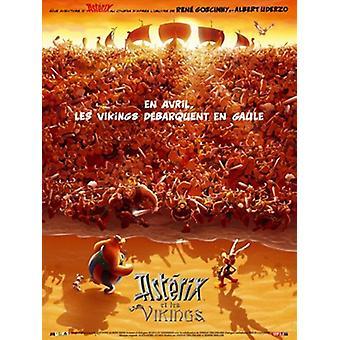 Asterix og vikingene filmen plakaten (11 x 17)