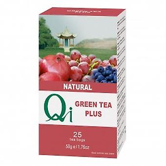 Qi Teas - Green Tea Plus 25 Bag
