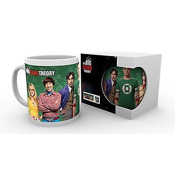 La taza de elenco de Big Bang Theory