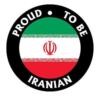 Proud To Be Iranian Car Air Freshener