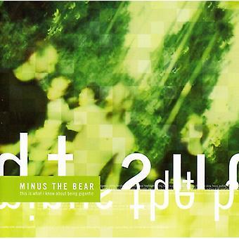 Minus Bear - er dette hvad jeg ved om Bein [CD] USA importerer