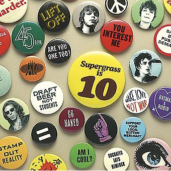 Supergrass - Supergrass Is 10: Meglio di importazione [CD] USA 94-04