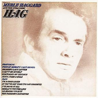 Merle Haggard - import USA Hag/Someday My 'Ll Look Back [CD]
