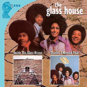 Glass House - Inside/Thanks I Needed That [CD] USA import