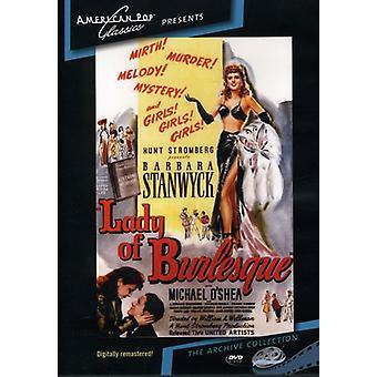 Importar de Estados Unidos [DVD] Señora de Burlesque (1943)
