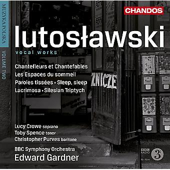 W. Lutoslawski - Witold Lutoslawski: Vocal Works [CD] USA import