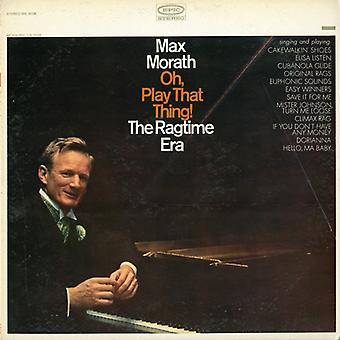Max Morath - Oh Play That Thing [CD] USA import