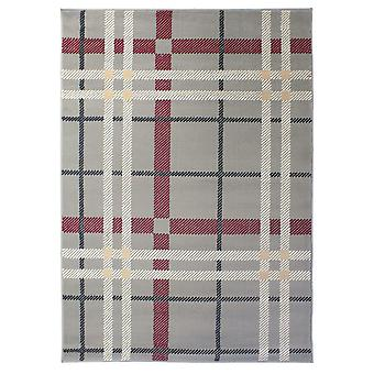 Geometric Liine Modern Grey Rug - Element