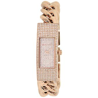 Michael Kors (Open Box) Hayden Pave Crystal Chain Link Bracelet Ladies Watch MK3307