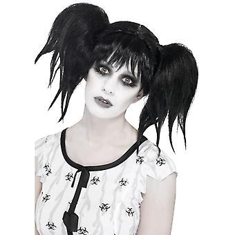 アビーの通常サイコ少女かつら少女人形かつらハロウィーン