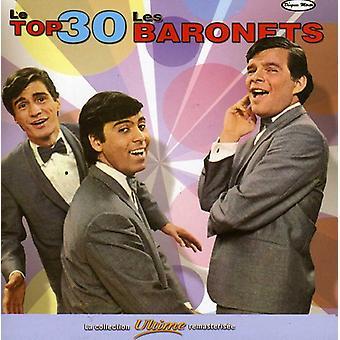 Importazione di Les baronetti - Le Top 30 USA [CD]