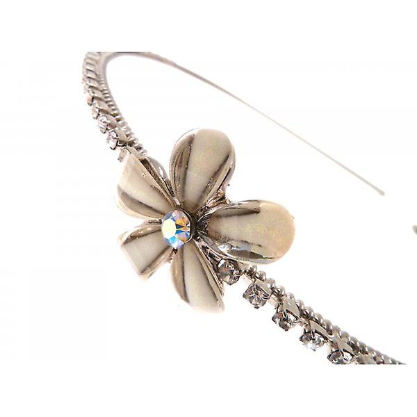 W.A.T Dainty Crystal Flower Hairband