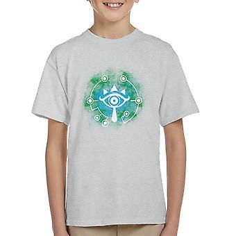 Öffnen Sie Ihre Sheikah Augen Zelda Kinder T-Shirt