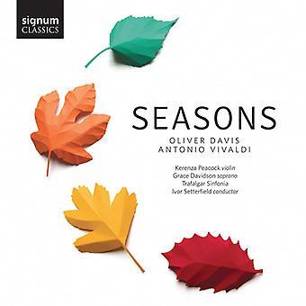 Davis / Davidson / Trafalgar Sinfonia / Setterfiel - Seasons [CD] USA import