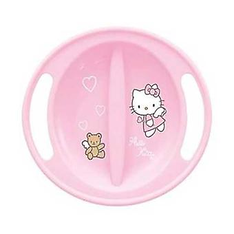 Hello Kitty mikrobølgeovn sikker Pink Baby fodring plade