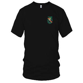 Ejército de los E.E.U.U. - 1r batallón 10 de fuerzas especiales del grupo alfa de separación operacional 7 bordado parche - para hombre T Shirt