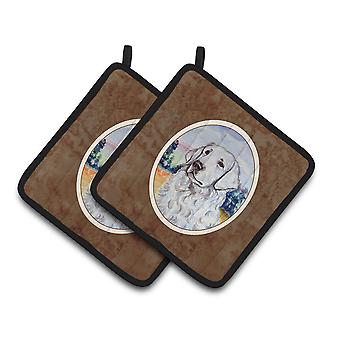 Carolines Treasures  7058PTHD Kuvasz Pair of Pot Holders